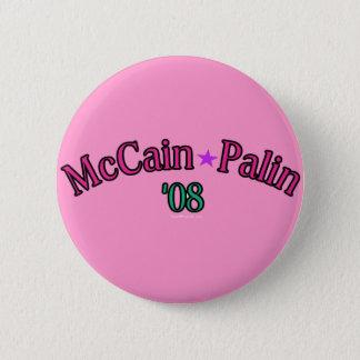 McCain Palin '08 Button