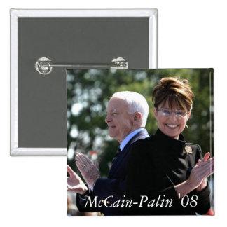 McCain-Palin '08 Button