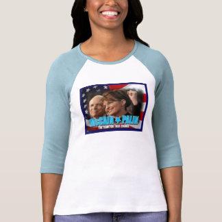 "McCain/Palin ""08"" Camiseta"