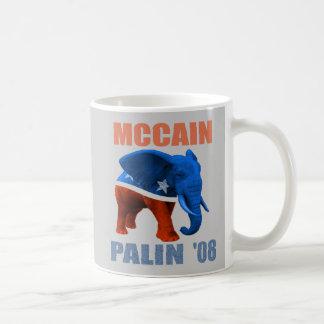 McCain Palin '08 Republican Elephant Mug