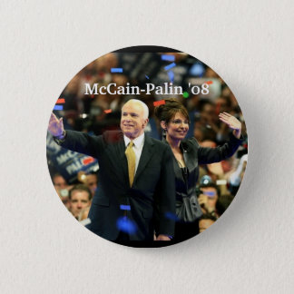 McCain-Palin '08, Vote for our fut... - Customized Pinback Button
