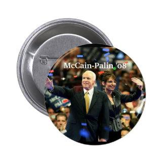 McCain-Palin '08, voto para nuestro fut… - Modific Pin