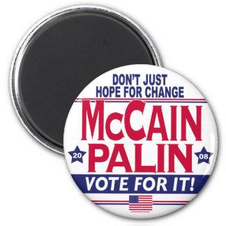 McCain Palin 2008 2 Inch Round Magnet