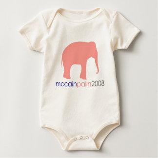 McCain Palin 2008 Baby Bodysuit