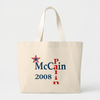 McCain Palin 2008 Canvas Bags