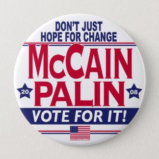 McCain Palin 2008 Button