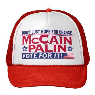 McCain Palin 2008 Gorro