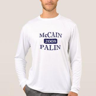 McCAIN PALIN 2008 long sleeve microfiber T-Shirt