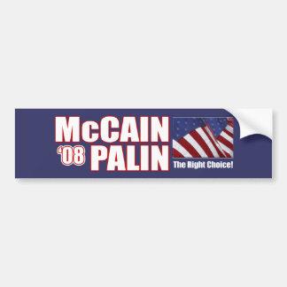 McCain Palin Bumper Stickers