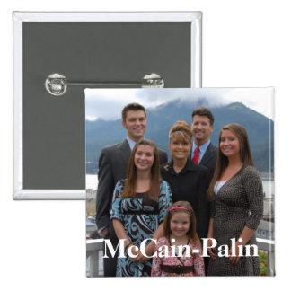 McCain-Palin Buttons