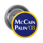McCain-Palin Button