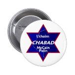 McCain Palin CHABAD Button