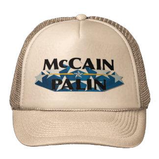 McCain Palin Khaki Logo hat