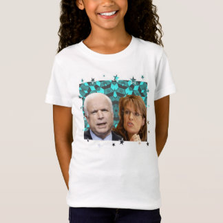 McCain/Palin Kid's Baby Doll Tee