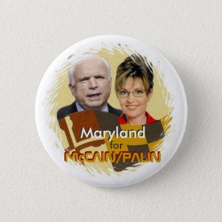 McCain/Palin Maryland Button