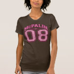 McCain + Palin = McPalin - camisa apenada vintage