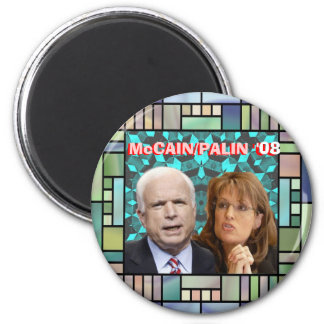 McCain/Palin Mosaic Magnet
