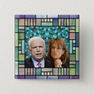 McCain/Palin Mosaic Square Button