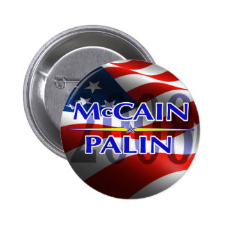 Mccain Palin pin