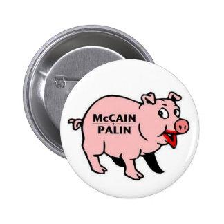 McCain Palin Pinback Button