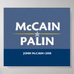 McCain Palin Pres VP Poster