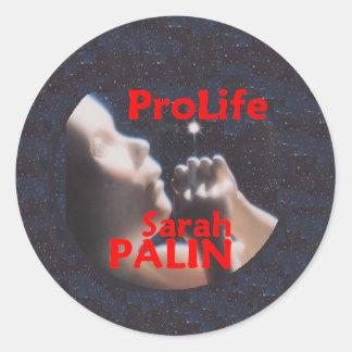 McCain Palin PRO LIFE Stickers
