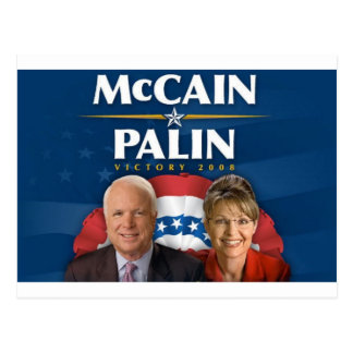 McCain-Palin Victory 2008 Postcards
