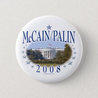 McCain Palin White House 2008 Button