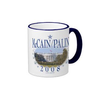 McCain Palin White House 2008 Mugs