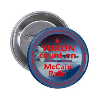 McCain Palin YUKON Button