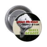 McCain Parachuting Button