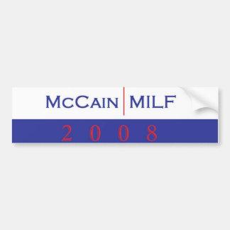 McCain/pegatina para el parachoques Pegatina Para Auto
