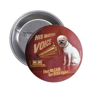 McCain Pet Dog Button