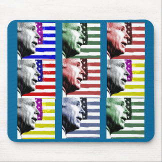 McCain Pop Art Flag Mousepad