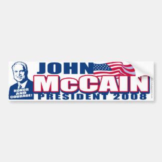 McCain President 2008 Bumper Sticker