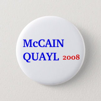 McCAIN QUAYL 2008 Button
