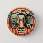 McCain & Sanford Pinback Button
