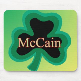 McCain Shamrock Mouse Pad