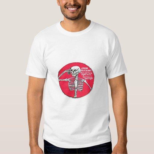 McCain Skull Phone Shirt