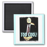 McCain Square Magnet Refrigerator Magnets