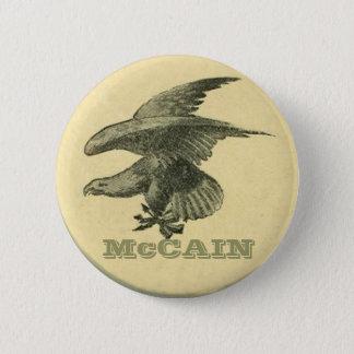 McCain Subdued Eagle button