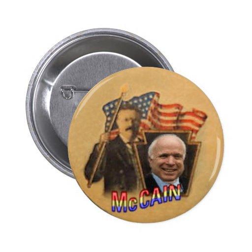 McCain TR Button