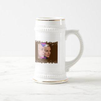 McCain TROPHY WIVES Stein 18 Oz Beer Stein