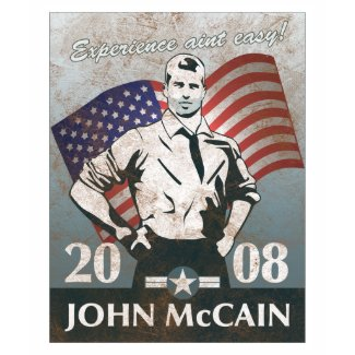 McCain Vintage Style, Experience. shirt
