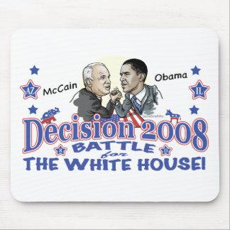 McCain vs Obama 2008 Mouse Pad