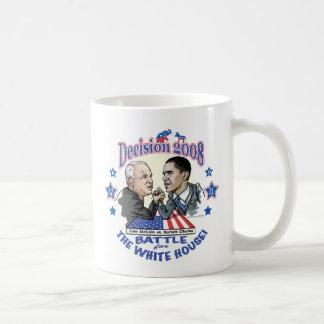 McCain vs Obama 2008 Coffee Mug