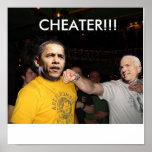 McCain Vs. Obama Posters