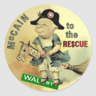 McCain Wall Street Stickers