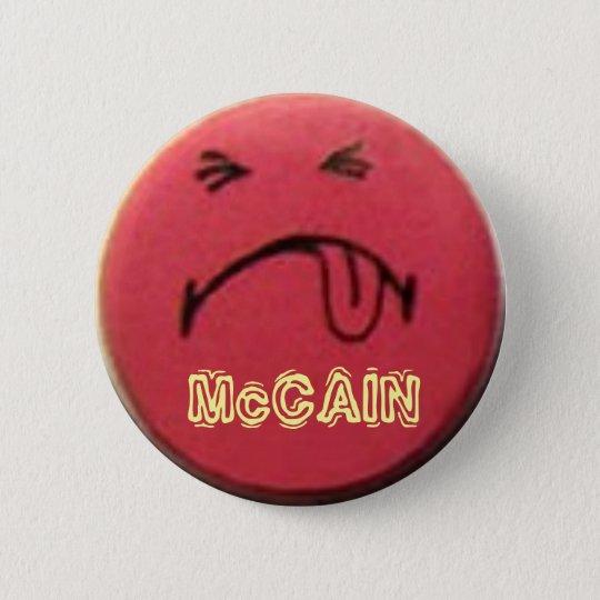 McCain Yuck Button