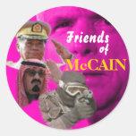McCain's Lobbyists Sticker